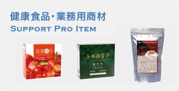 画像:Support PRO ITEM商品イメージ