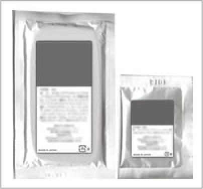 画像:アルミパウチ 包装画像