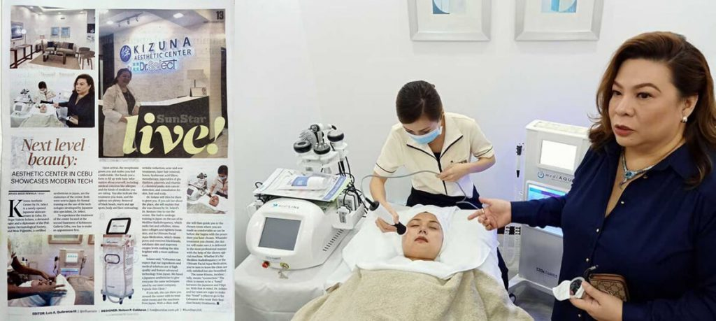KIZUNA AESTHETIC CENTER By Dr.Selectが地元メディアに掲載されました。